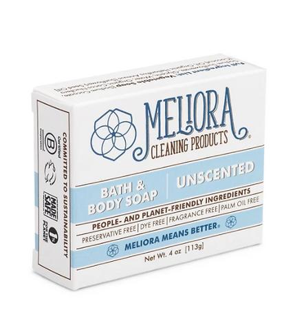organic bath body bar soap, Meliora