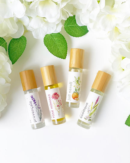 certified organic fragrance, reves de sabine natural, non-toxic perfume, scents