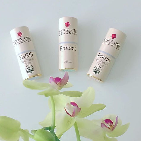 USDA Organic skin care, rose, pretty organic girl, honey girl organics, facial cleaner, body lotion, face cream, suncreen