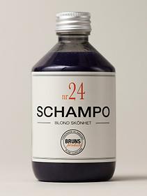 Bruns SCHAMPO N24 purple shampoo review