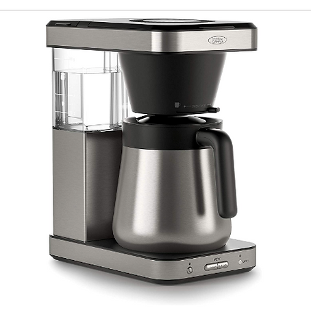 Coffee makers without California Proposition 65 warning, safer coffee makers, non-toxic coffee makers, heathier coffee makers, organic coffee makers, eco-frienldy coffee maker, OXO coffee maker