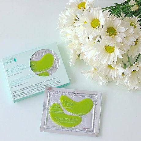 organic eye masks 100% pure