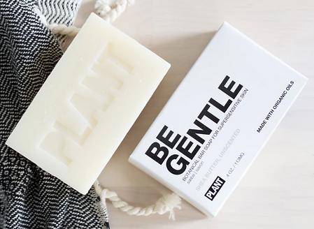 organic bar soap, sensitive skin