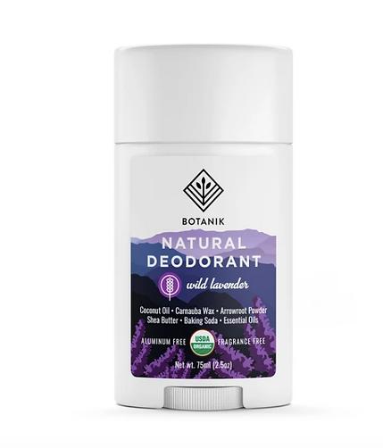 No Aluminum. No Parabens. No Baking Soda. USDA organic deodorant. Botanik