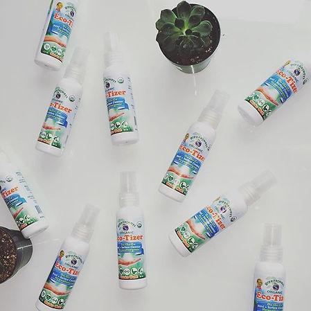 natural hand sanitizer