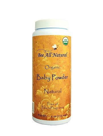 USDA Certified organic baby powder