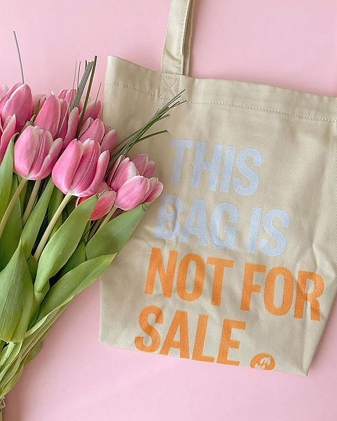 Hot Water Soluble Tote Bag