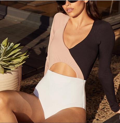 organic eco friendly, sustainable bathing suit, one-piece bathing suit, swim wear organic