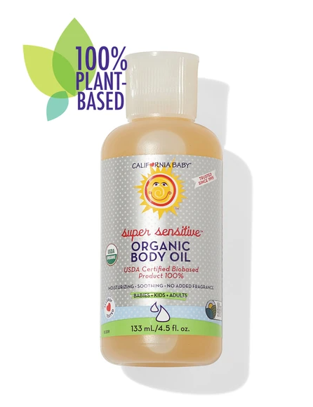 USDA Certified organic body oil