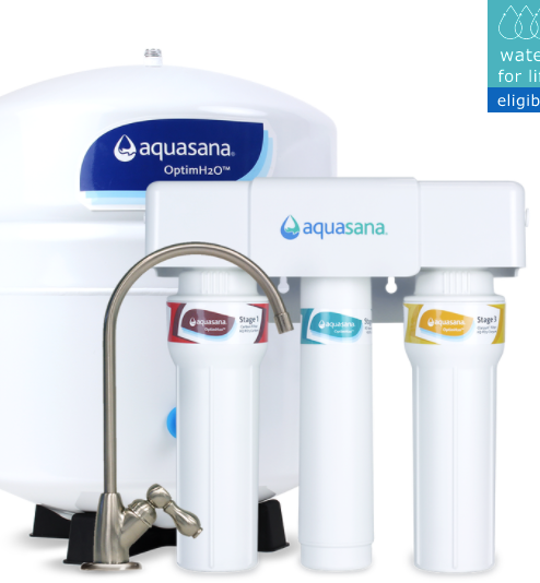 organic water filters under the sink reverse osmosis