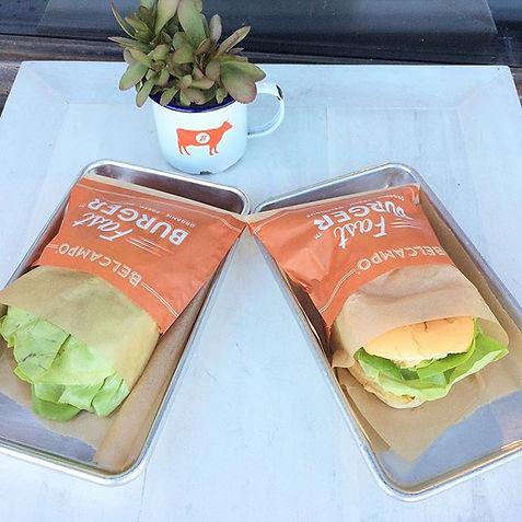 organic burger, los angeles, beverly hills, usda certified organic, belcampo, organic, vegan, pretty organic girl