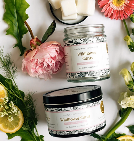 organic home spa, certified organic home facial, home treatments, home spa day, self care, certified organic candles, made safe candles, fontana candles