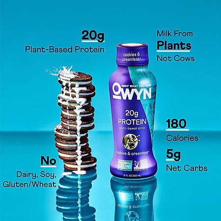 organic protein drink shakes owyn