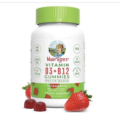 organic suppements for kids, Mary Ruth's organic supplements, supports for kids, focus and attention, Vitamin D3  Vitamin B12