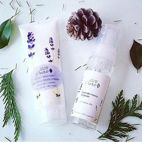 organic lavender skincare 100% pure