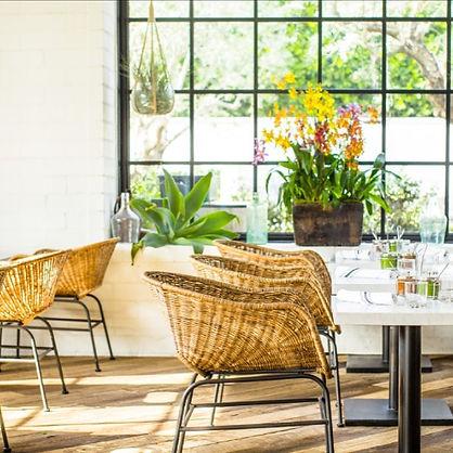 Gracias Madre, organic, vegan, los angeles, restaurant, chairs, table