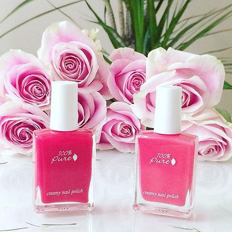 organic nail polish 100% pure