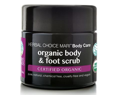USDA Certified organic body and foot scrub