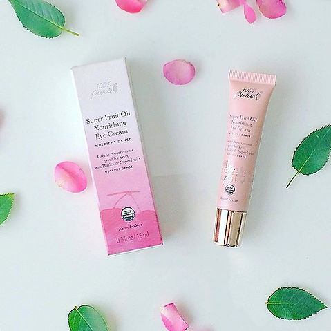 USDA Certified organic eye cream 100% Pure, Super Fruit Oil Nourishing Eye Cream