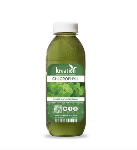 organic, vegan chlorophyll liquid drink, juice