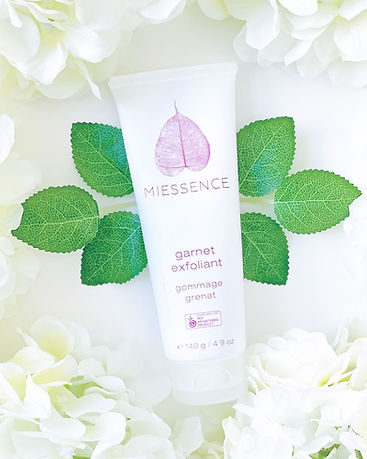 organic scrub made with safer ingredients, miessence