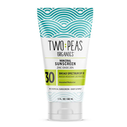 Certified Organic Mineral Reef-Safe Sunscreen. Eco-friendly sunblock made with certified organic