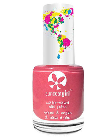 non-toxic nail polish for kids, kids organic nail polish, eco-friendly nail polish for kids, water based nail polish for kids, little girls, suncoat girl nail polish for kids