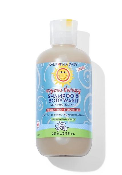 eczema body wash and shampoo organic