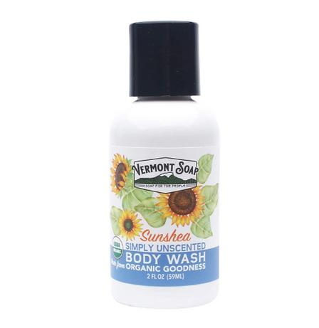 USDA Certified body wash travel size