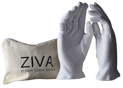 organic cotton gloves for eczema
