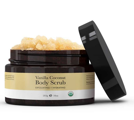 USDA Certified organic body scrub