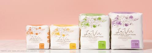 organic pads feminine pads