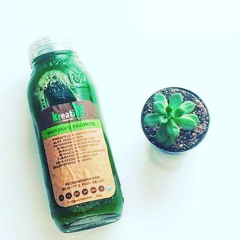 Kreation Organic Juice, Marjan's USDA Organic Juice