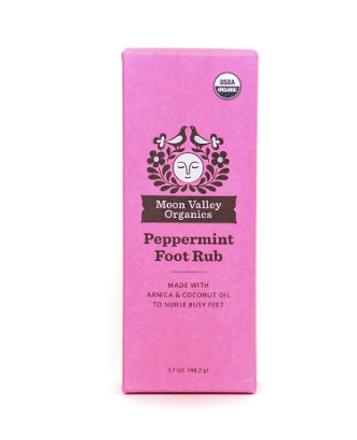 certified organic foor rub