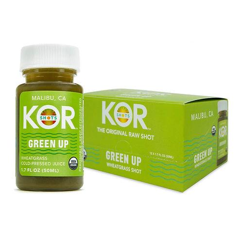 USDA certified organic chlorophyll shot