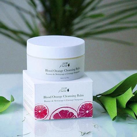 organic balm facial cleanser 100% pure