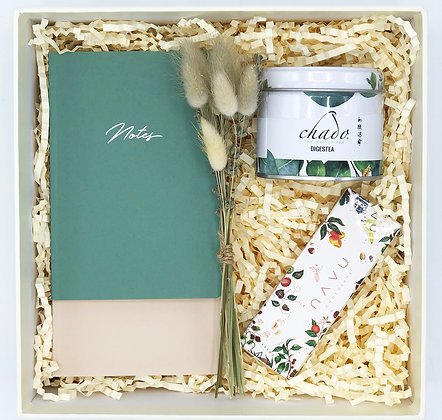 Little Notes - Green & Pure Mid Box