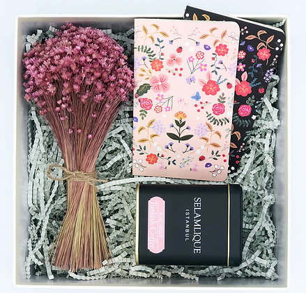 Black Floral Box