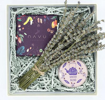Purple Lavender Mid Box