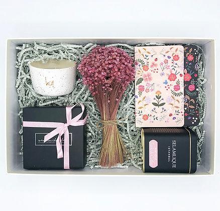 Black Floral Big Box