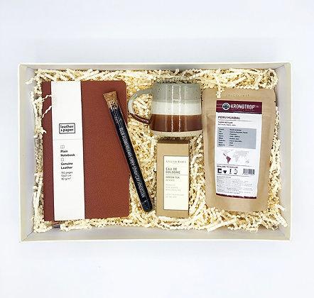 Brown Coffee Big Box