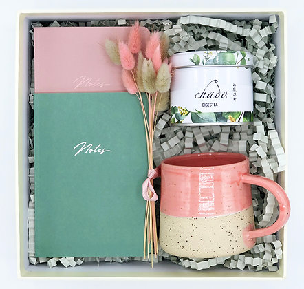 Little Notes - Pink & Green Mid Box 1