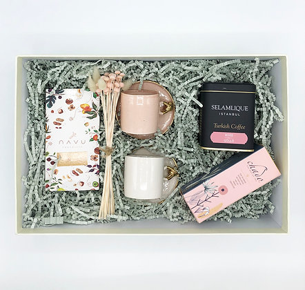 Pink & White Coffee Big Box