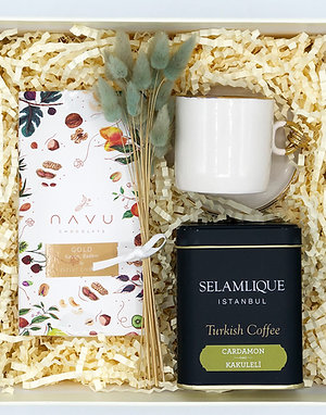 White Coffee Mid Box