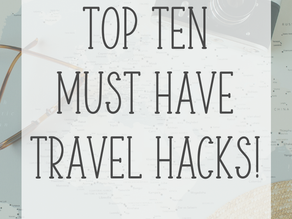 10 Travel Hacks You Must Try!