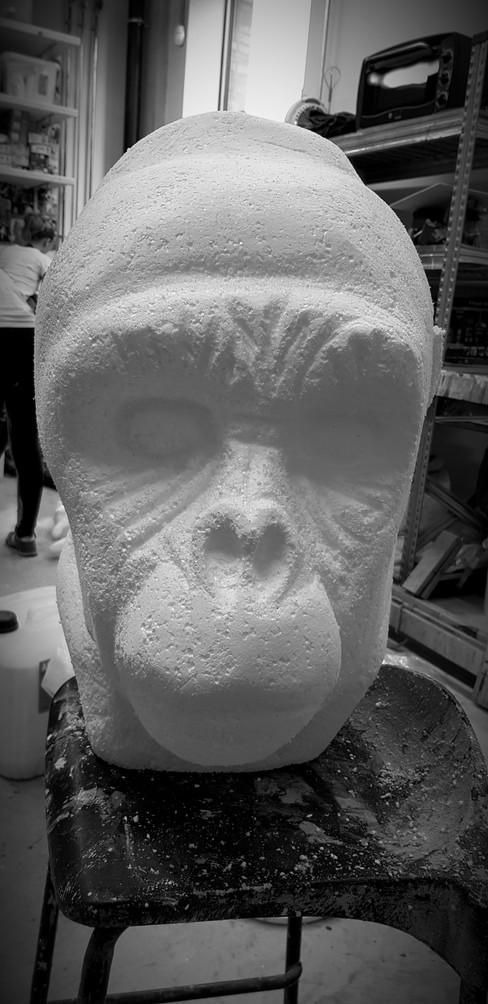 Polycarve Gorilla Part 1