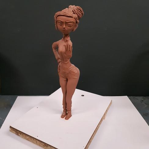 Courtney Babcock Sculpt Front