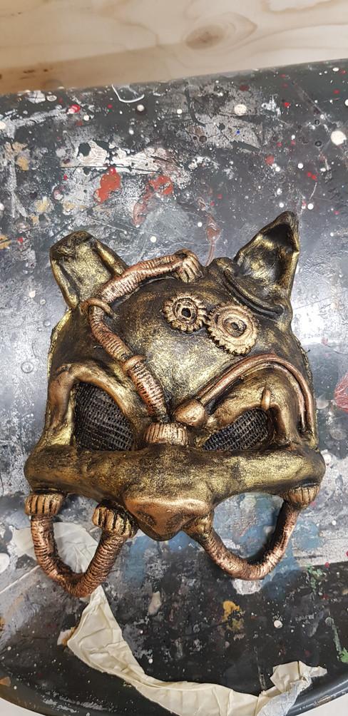Steampunk Latex Mask