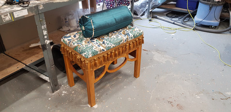 Art Nouveau Piano Stool