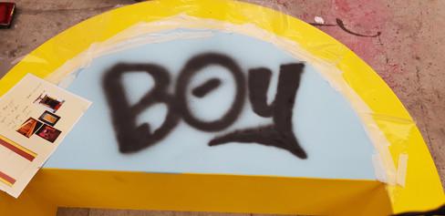 Boy Graffiti